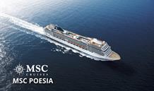 Německo, Belgie, Španělsko, Portugalsko z Warnemünde na lodi MSC Poesia