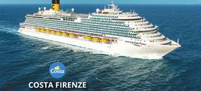 Španělsko, Francie, Itálie z Barcelony na lodi Costa Firenze