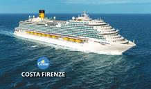 Itálie, Španělsko, Francie ze Savony na lodi Costa Firenze