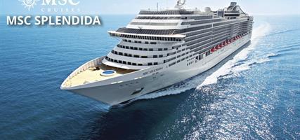 Itálie, Řecko, Chorvatsko z Bari na lodi MSC Splendida
