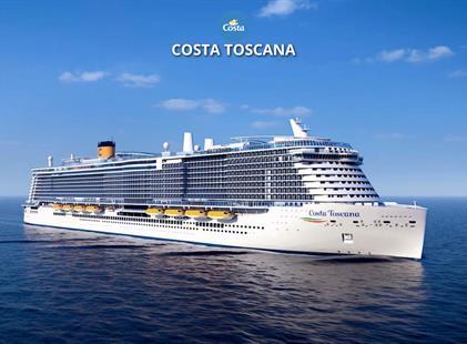 Španělsko, Itálie, Francie z Valencie na lodi Costa Toscana