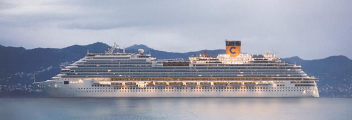 Francie, Itálie z Marseille na lodi Costa Diadema