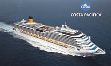 Itálie, Francie, Španělsko ze Savony na lodi Costa Pacifica
