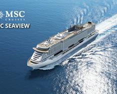 Německo, Švédsko, Estonsko z Warnemünde na lodi MSC Seaview ****