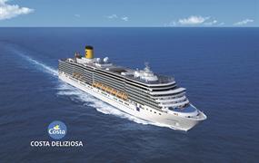 Itálie, Řecko na lodi Costa Deliziosa