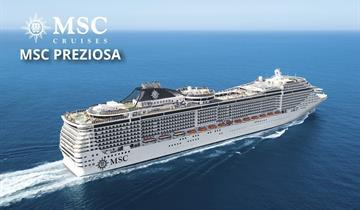 Itálie, Francie z Janova na lodi MSC Preziosa