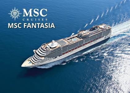 Itálie, Francie, Španělsko, Tunisko z Janova na lodi MSC Fantasia ****