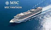 Španělsko, Tunisko, Itálie z Barcelony na lodi MSC Fantasia