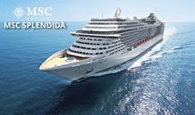 Itálie, Řecko, Chorvatsko z Brindisi na lodi MSC Splendida