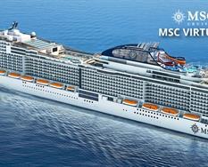 Španělsko, Portugalsko, Francie, Itálie z Málagy na lodi MSC Virtuosa ****