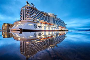 Španělsko, Itálie z Valencie na lodi MSC Seaside