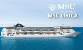 Řecko, Turecko z Pireu na lodi MSC Lirica