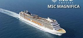 Belgie, Nizozemsko, Německo, Velká Británie, Francie ze Zeebrugge na lodi MSC Magnifica