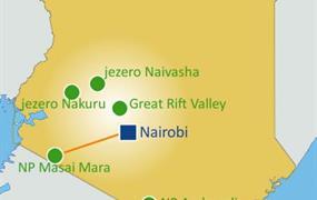 Země Masajů, Masai Mara Safari