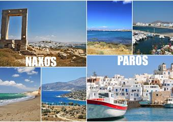 ISLAND HOPPING - Naxos + Paros