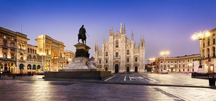 Miláno - památky, umění i nákupy italské módy