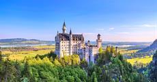 Neuschwanstein a Linderhof - zámky šíleného krále