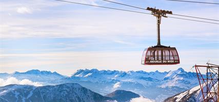 Savojské Alpy - hora Mont Blanc, Chamonix a městečko Annecy