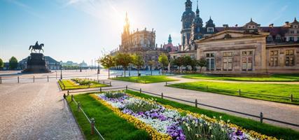 Jarní Drážďany a výstava Svět orchidejí