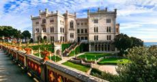 Terst a zámek Miramare