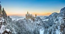 Pohádkový zámek Neuschwanstein a vánoční trhy v Regensburgu