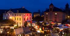 Adventní Drážďany a historické vánoční trhy na pevnosti Königstein