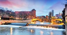 Vánoční trhy v Norimberku a starobylý Bamberg