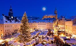 Krušnohorské Vánoce v Annabergu a na zámku Schwarzenberg