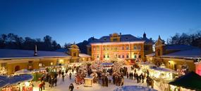 Rakouské Vánoce - Salzburg a zámek Hellbrunn