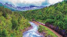 Norsko - vlakem a lodí od moře do hor