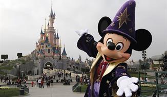 Disneyland a Paříž