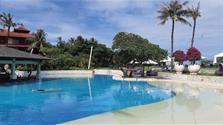 Holiday Inn Express Baruna - budova na pláži