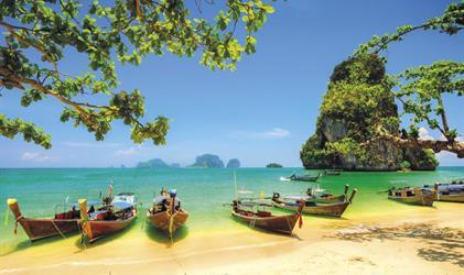 Okruh Thajskem akrásy thajských ostrovů