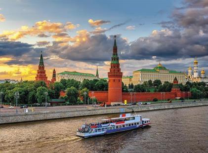 Moskva - letecké víkendy