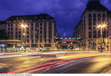 Hotel Mercure Budapest Korona
