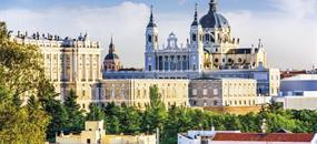 Madrid - letecké víkendy