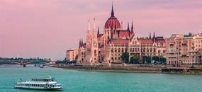 Budapešť a dunajský ohyb
