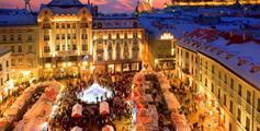 Bratislava a advent na Dunaji