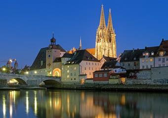 Regensburg a Hundertwasserův advent