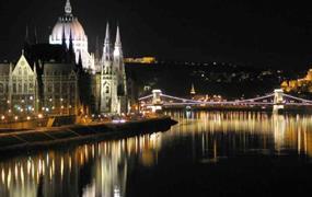 Budapešť a lázně Széchényi