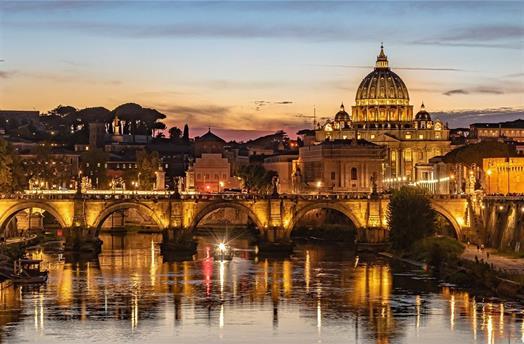 Řím a Florencie s návštěvou jezera Lago Albano ***