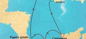 Legendy Karibiku (z Colonu) na lodi Monarch AI