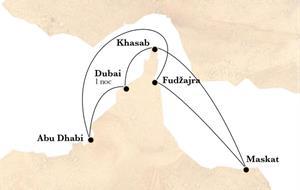 Dubai a arabské legendy na lodi Horizon AI