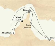 Horizon - Arabské emiráty, Omán (z Dubaje)