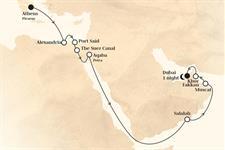 Horizon - Řecko, Jordánsko, Omán, Arabské emiráty (z Pirea)