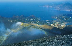 Kalábrie, Liparské ostrovy a Stromboli