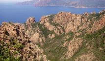Korsika - turistika a moře II