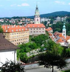 Šumava, zámky a kláštery na Vltavě