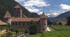 Paleta z Dolomit a jezero Lago di Garda
