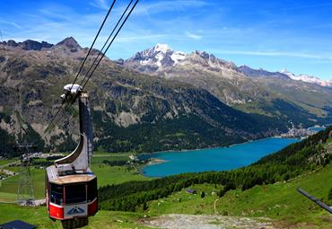 Švýcarsko - Svatý Mořic - s kartou, hotel